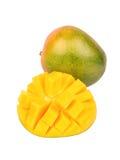 owoce mango pokroić Zdjęcie Royalty Free