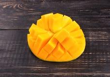 owoce mango pokroić Zdjęcia Stock