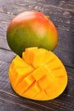 owoce mango pokroić Obrazy Royalty Free