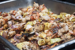 Owoce morza BBQ Zdjęcie Royalty Free