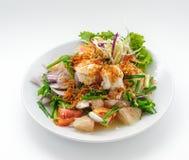 Owoce morza koktajl z zieloną cebulą Zdjęcie Stock