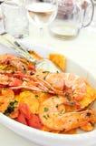 owoce morza makaronu zdjęcia stock