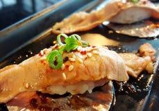 Owoce morza mieszanki półmiska zakończenie up, owoce morza bufet, owoce morza je restaurację Obraz Stock