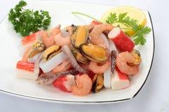 Owoce morza półmisek. fotografia stock