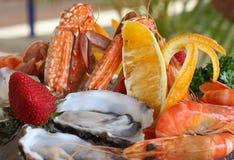 owoce morza półmiska Obrazy Stock