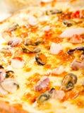 Owoce morza pizza zdjęcia stock