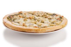 Owoce morza pizza Obrazy Royalty Free
