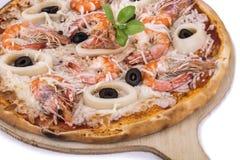 Owoce morza pizza obrazy stock