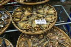 Owoce morza poczta produktu rynek w lokalnej rybołówstwo wiosce zdjęcia royalty free