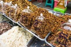 Owoce morza poczta produktu rynek w lokalnej rybołówstwo wiosce zdjęcie royalty free