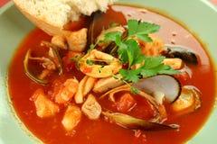 owoce morza śródziemnomorska zupy Obrazy Royalty Free