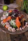 Owoce morza sałatka Obraz Stock