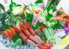 Owoce morza Sashimi obrazy stock