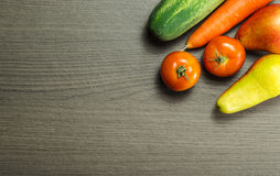 owoce organiczne warzywa Zdjęcie Stock