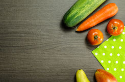 owoce organiczne warzywa Obraz Stock