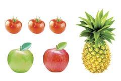 owoce, warzywa Zdjęcia Stock