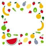 owoce, warzywa Obraz Royalty Free
