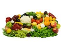 owoce, warzywa xxl Zdjęcie Stock