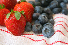 owoce zmieszana Zdjęcia Royalty Free