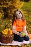 owocowa dziewczyna Fotografia Stock