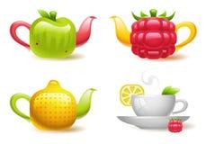 Owocowa herbata ilustracji
