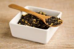 Owocowa herbata w łyżce Obrazy Royalty Free
