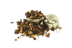 Owocowa herbata z durszlakiem Obrazy Stock