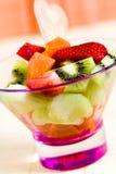 owocowa kiwi melonowa sałatki truskawka Zdjęcia Royalty Free