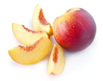 owocowa nektaryna Zdjęcia Royalty Free