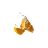 Owocowa pluśnięcie pomarańcze Zdjęcia Stock