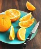 owocowa pomarańcze Zdjęcia Stock