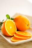 owocowa pomarańcze Obraz Royalty Free