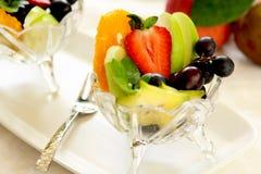 owocowa zdrowa sałatka Obrazy Stock