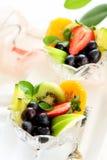 owocowa zdrowa sałatka Fotografia Stock