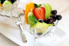 owocowa zdrowa sałatka Obrazy Royalty Free