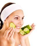 owocowe facial maski fotografia stock