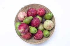 Owocowego kosza jabłek bonkrety Obraz Royalty Free