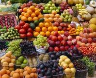 owocowego rynku warzywa Obrazy Royalty Free