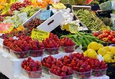 owocowego rynku warzywo Fotografia Royalty Free