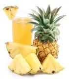 owocowego soku ananas obraz royalty free