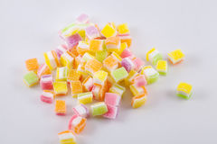 Owocowej galarety słodki wielo- kolor obraz stock