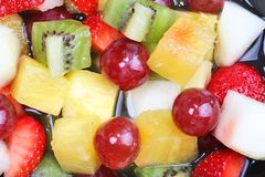 owocowej sałatki lato Fotografia Stock