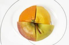 owocowi plasterki Zdjęcie Stock