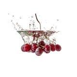 Owocowi pluśnięć winogrona Zdjęcia Stock
