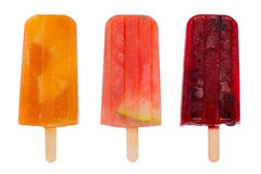 Owocowi popsicles Obrazy Stock