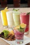 Owocowi smoothies Zdjęcie Royalty Free