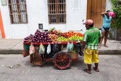Owocowi sprzedawcy Fotografia Royalty Free