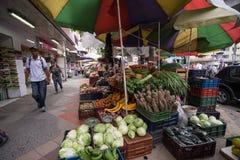 Owocowi stojaki w Medellin Obrazy Royalty Free