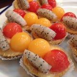 owocowi tartlets zdjęcie royalty free