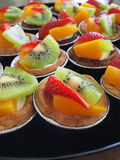 owocowi tarts Zdjęcia Stock